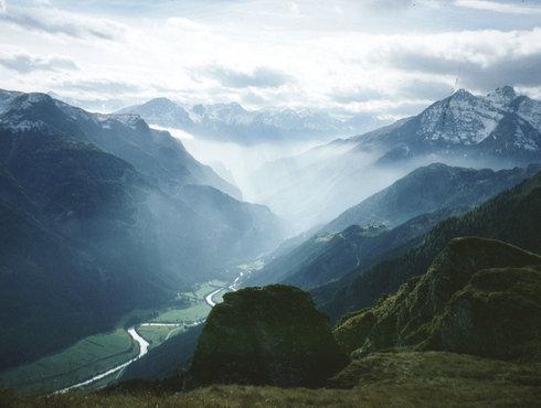 Nebelstimmung Tiroler Oberland Oberinntal