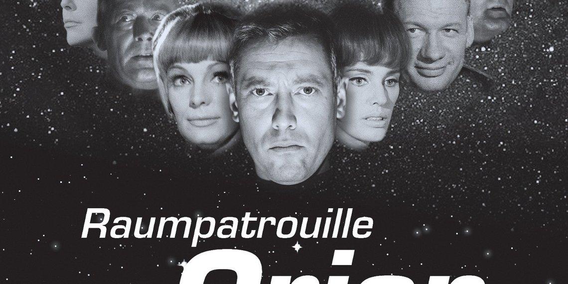 Raumpatroullie Orion Poster Dietmar Schönherr