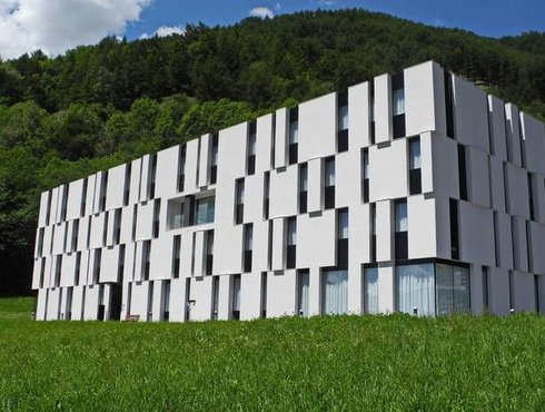 Architekt Werner Tscholl Latsch Schülerheim Fürstenburg