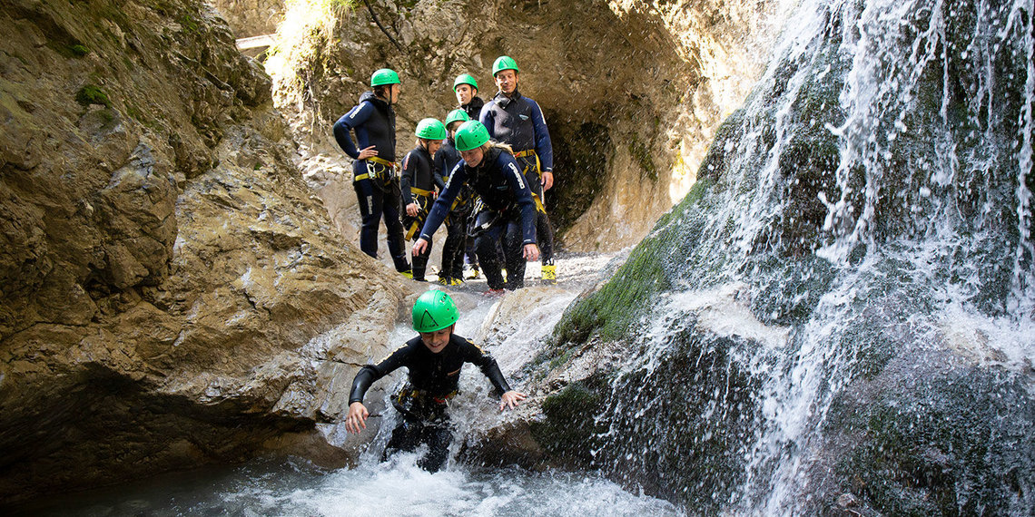 Canyoning Lemming Tours