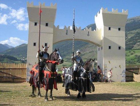 Ritterspiele Schluderns