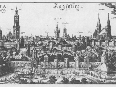 Augsburg im 14. Jhd