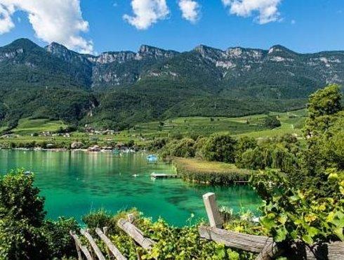 Landschaft Kalterer See