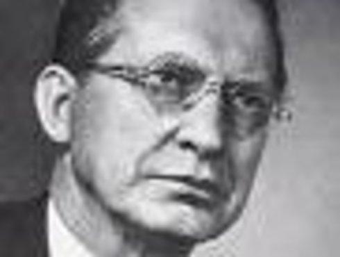 Alcide De Gasperi, italienischer Staatsmann und Politiker aus Pieve Tesino