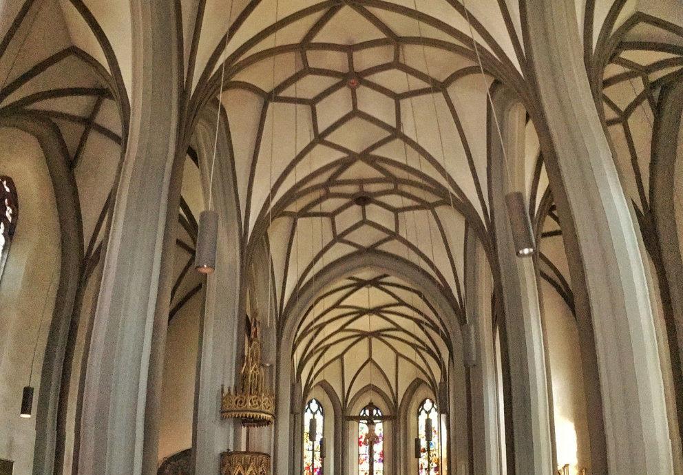 Gotische Pfarrkirche Imst