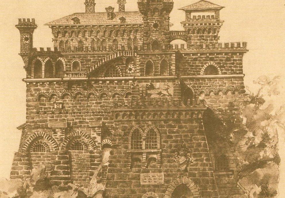 Castello Di Montebelluna Visione Fantastica