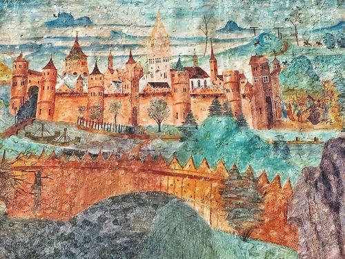 Jerusalem Gotisch Auf Pfarrkirche