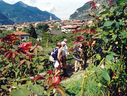 Rovereto Vallagarina Besenello Wanderweg