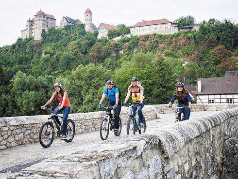 Foto von Radfahrern in Donau Ries