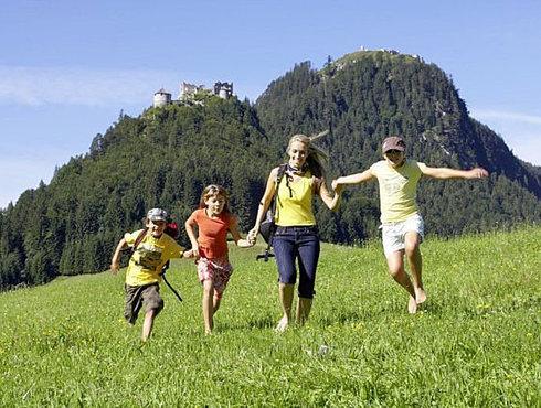 Wandern Familie