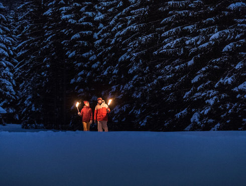 Winter Fackelwandern