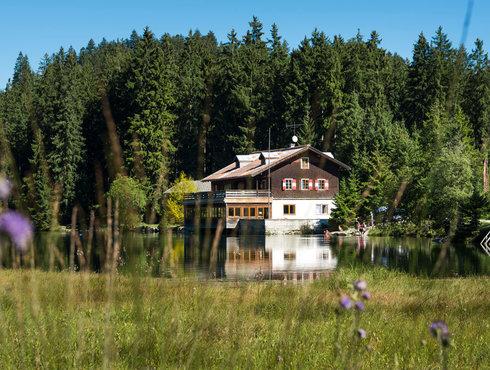 Sommer Frauensee Naturparkregion Reutte