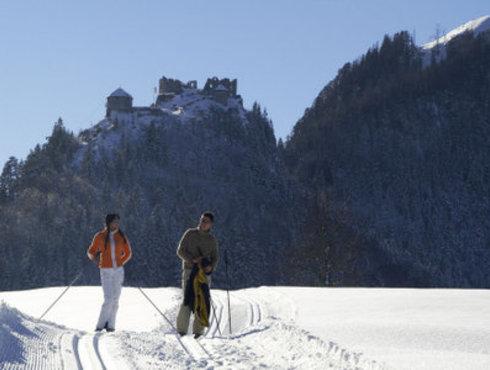 Winter Ehrenberg Langlaufen