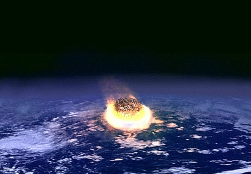 Impact Event, Foto Wikipedia Nasa