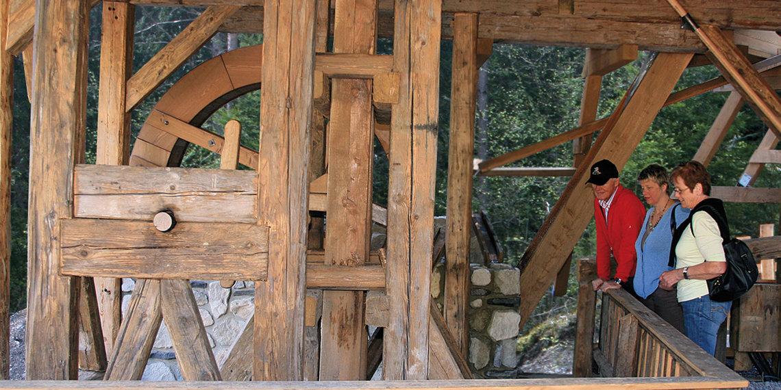 Knappenwelt Bergbau Pochwerk