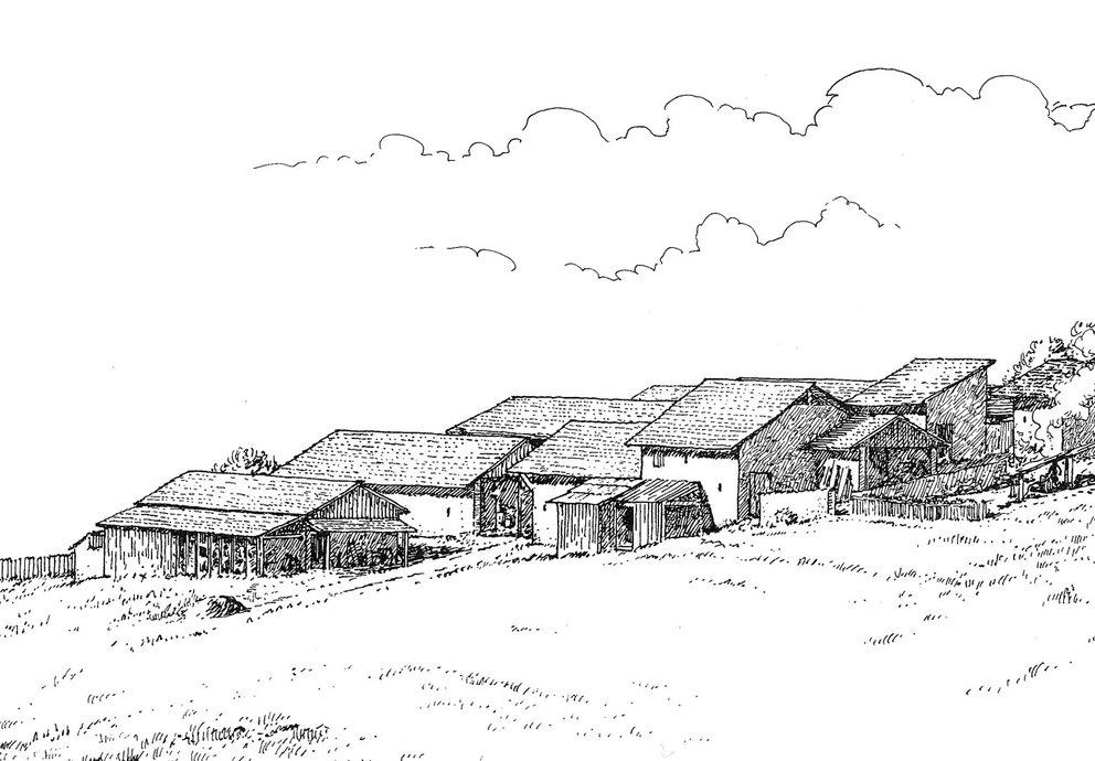 Siedlung oben