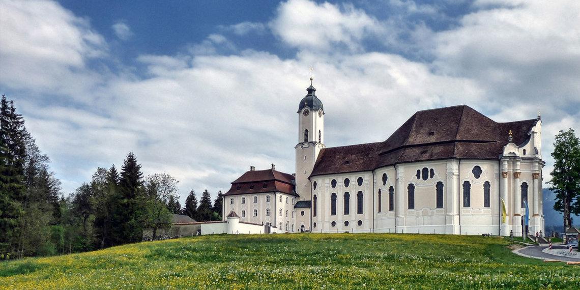 Wieskirche, Pfaffenwinkel, Weilheim, Foto Via Claudia Augusta