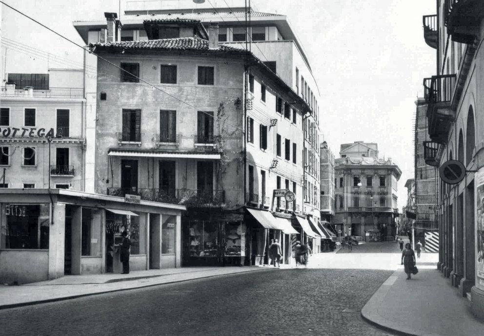 Foto Storiche Treviso Bughetto Mostra Commercianti Treviso