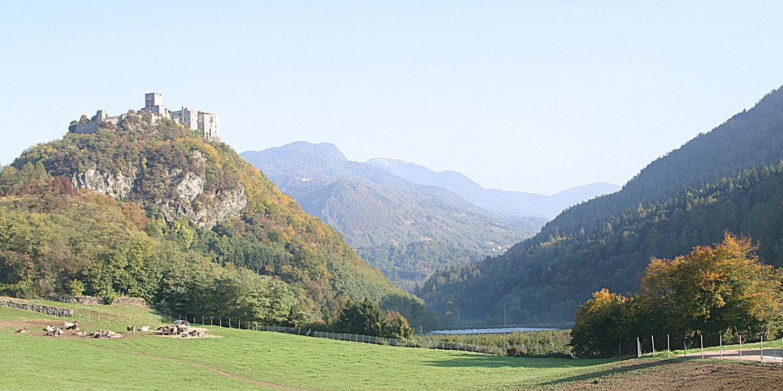 Castell Pergine, Alta Valsugana