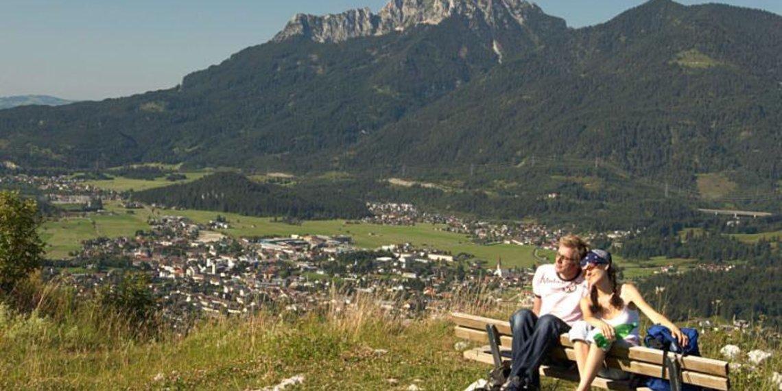 Frühling Pärchen Panorama