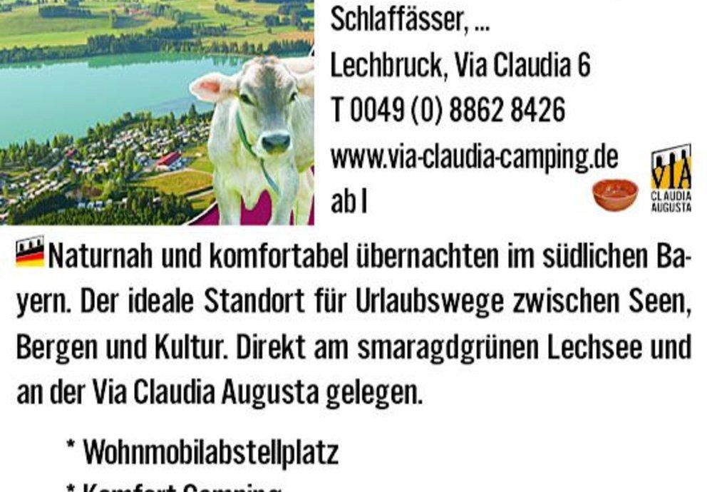 Lechbruck, Camping Via Claudia