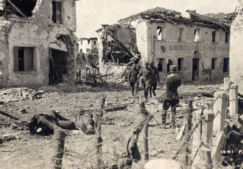 Zerstörung Siedlung