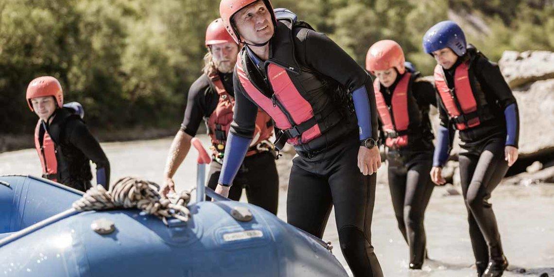 Sommer Imst Tourismus Rafting