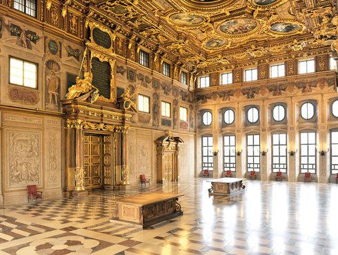 Augsburg Goldener Saal im Rathaus, Foto Regio Augsburg