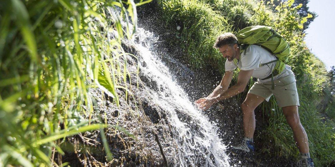Waal Wasser Erfrischung