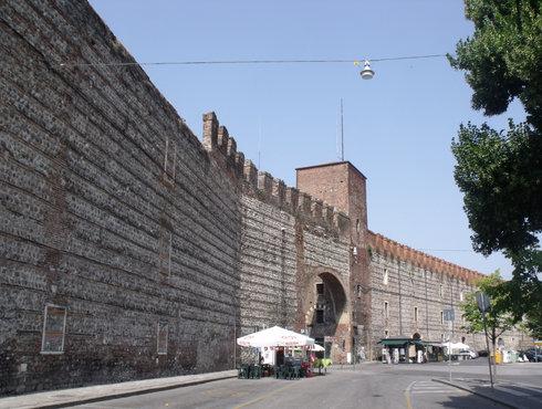 Stadtmauer Verona