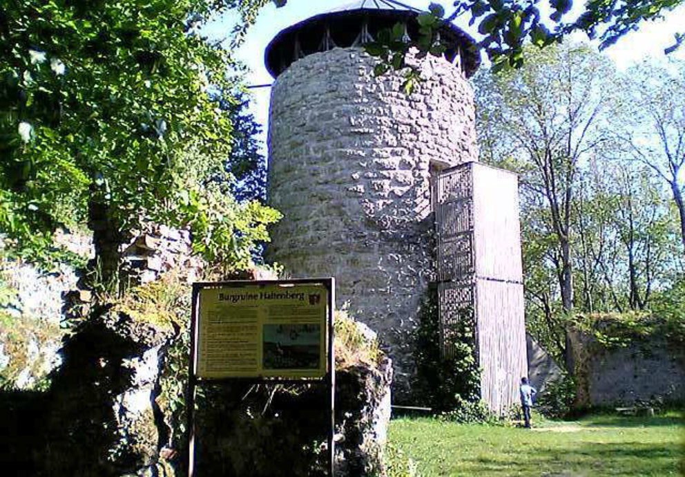 Turm Burg Schloss Haltenberg, Foto Platschka