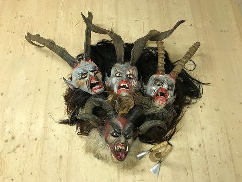 Kunst Ausstellung Alte Masken Biberwier