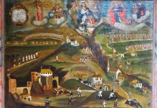 Battaglia Di Calliano 1487 Dipinto