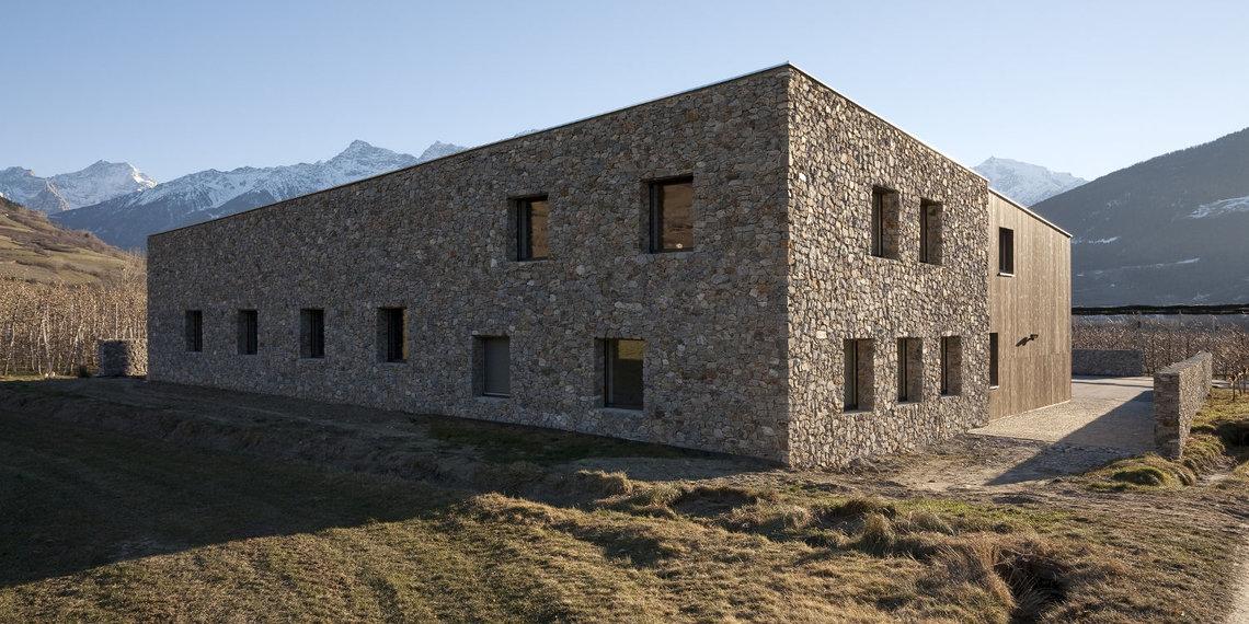 Architekt Arnold Gapp Versuchsfeld Schluderns