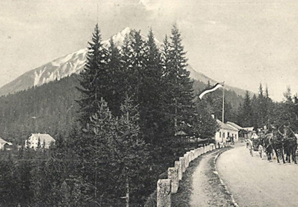 Fernpass Geschichte Kutschen