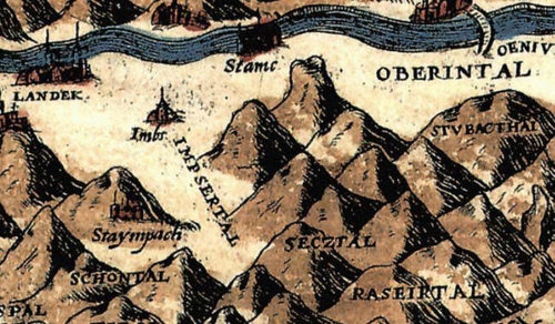 Alte Karte
