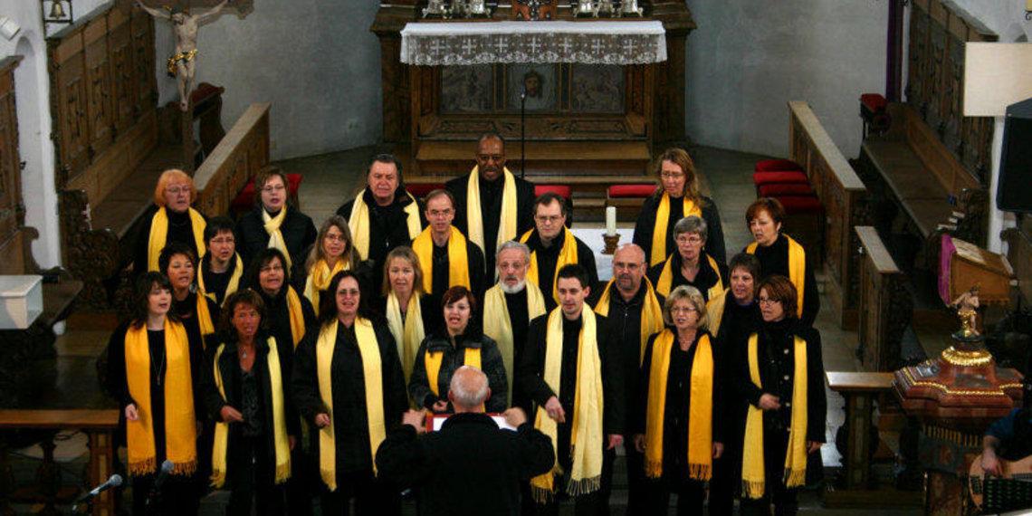 Gospelchor in Gersthofen
