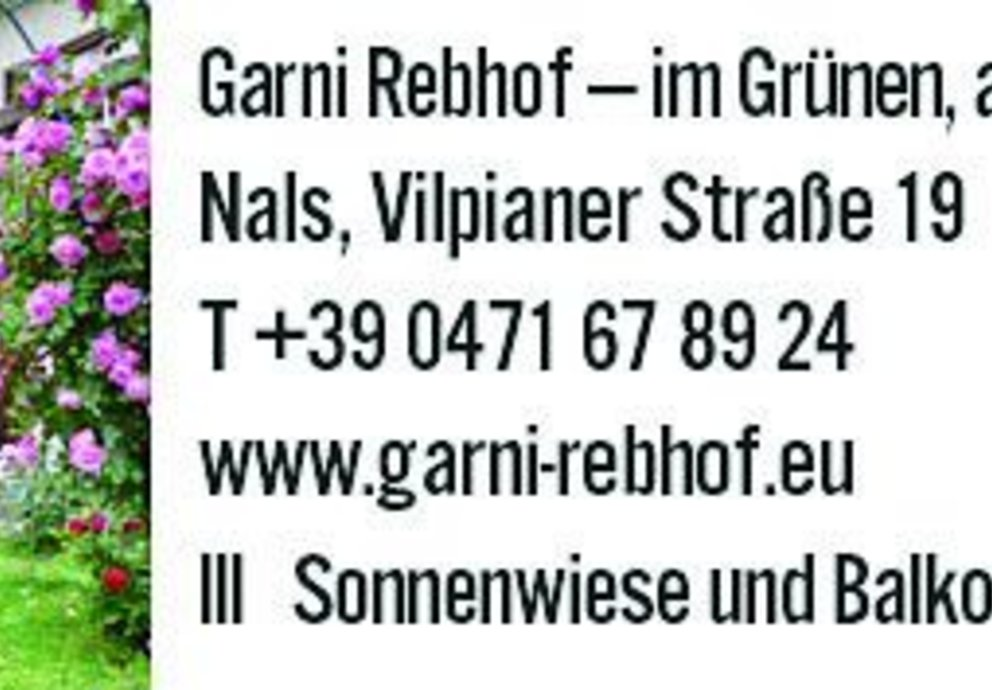 Nals, Garni Rebhof