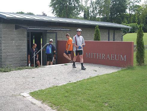 Mythräeum Heiligtum Lechfeld Augsburger Land, Foto Tschaikner