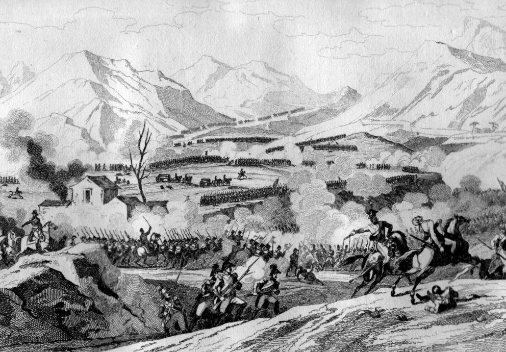 Schlacht von Rivoli Napoleon