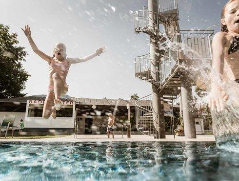 Sommer Imst Tourismus Schwimmen