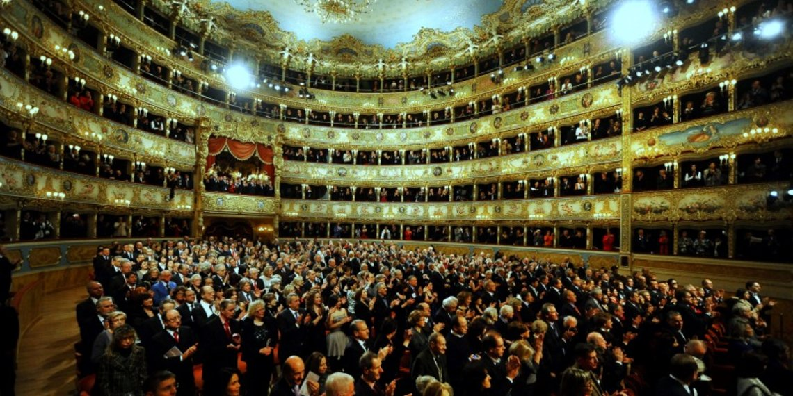 Teatro Fenice Venezia Publico