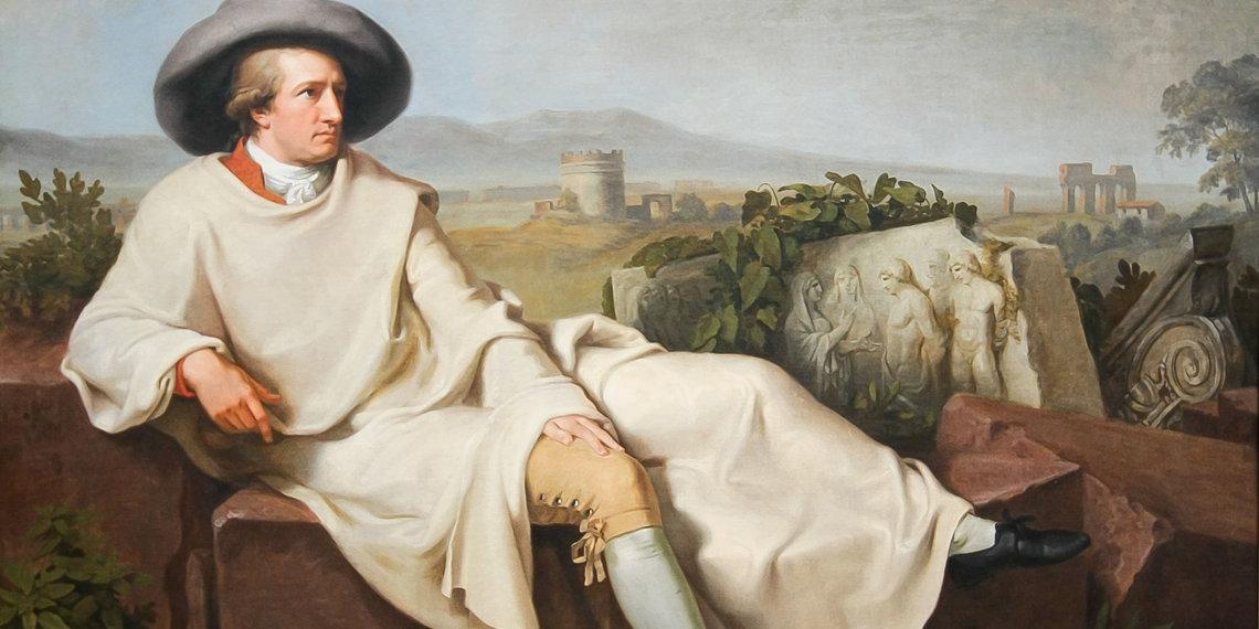 Johann Heinrich Wilhelm Tischbein Göthe In Der Römischen Campagna