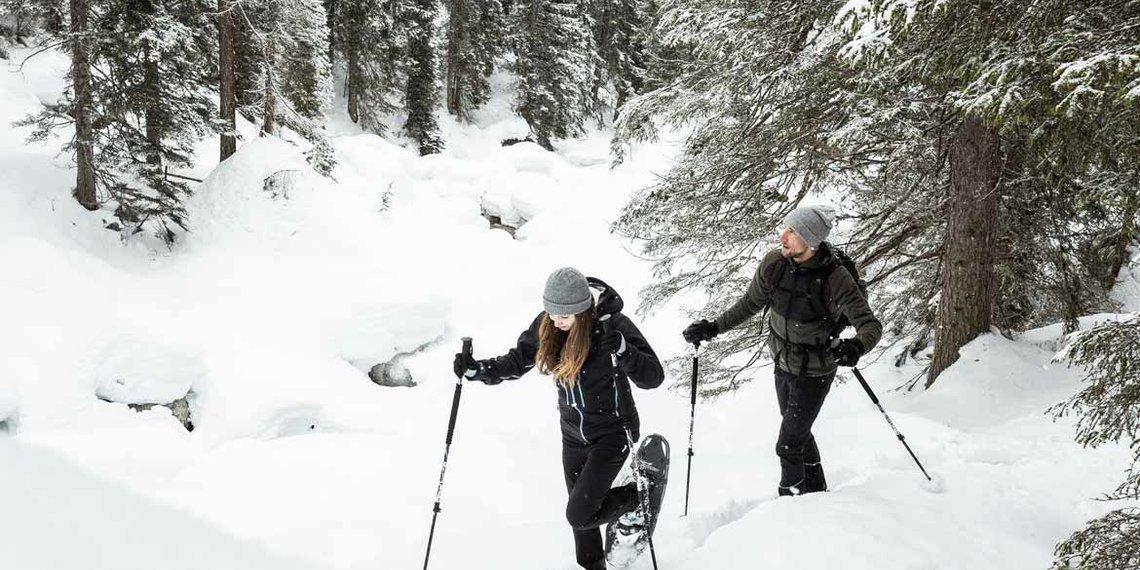 Winter Imst Schneeschuhwandern Latschenhütte