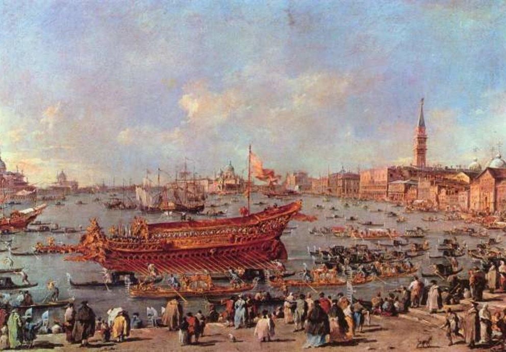 Holz Schiffe Venezia