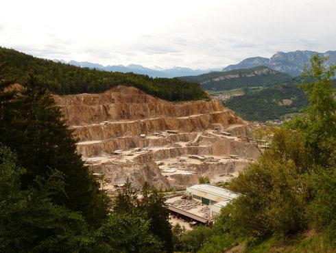 Albiano Porphyry Quarry