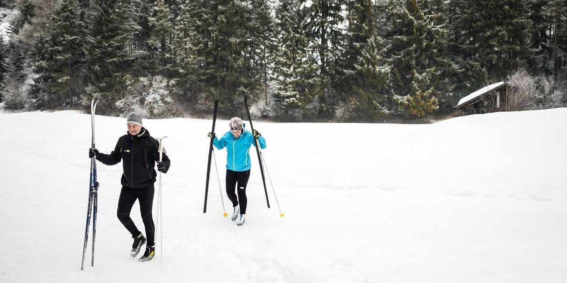 Winter Imst Langlaufen