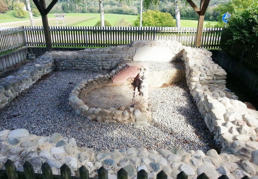 Römisches Brunnenhaus, Foto Platschka