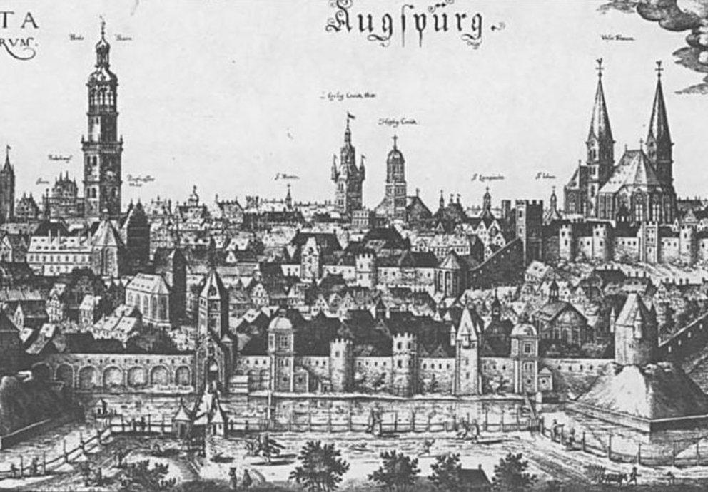 Augsburg im 14. Jahrhundert
