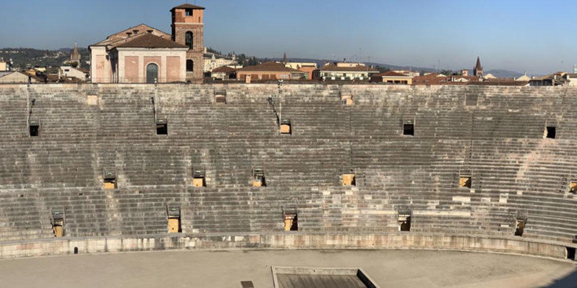 Panorama Arena Di Verona Von Innen